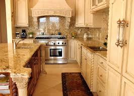 minimalist eouropean style kitchen with brown solarius granite countertops