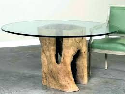 tree trunk end tables stump coffee table with glass top beautiful fascinating t base tree trunk end table