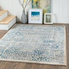 blue and cream area rug i blue and cream area rug amazing round area rugs abbeville