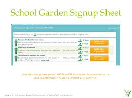 Parent Sign Up Sheet Back To School Classroom Sign Up Forms Fast Easy And Free