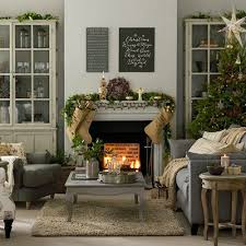 Christmas Living Room Decorating Ideas Gorgeous Grey And Taupe Christmas Living Room Living Room Decorating