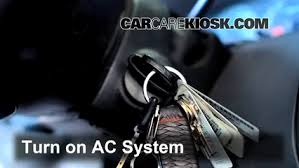 how to add freon in a 2009 2012 chevrolet traverse 2012 4 air conditioning fill safely add refrigerant to your a c system