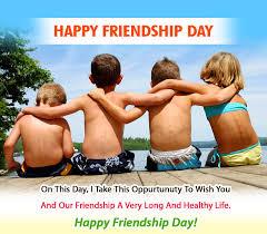happy friendship day kids