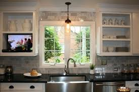 above kitchen sink lighting. Adorable Kitchen Remodel: Likeable Above Sink Lighting 4621 Of Over Light From .