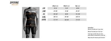 Size Chart Bioracer Bioracer