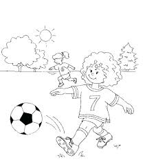 Soccer Coloring Page Soccer Coloring Pages Free Soccer Coloring