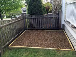 build an outdoor dog potty