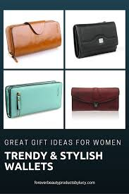 they are very trendy and stylish a must have in every las handbag great gift ideas for women fine leather women wallets