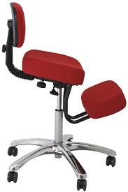 Ergonomic chair betterposture saddle chair Amazon Jobri F1446 Jazzy Red Kneeling Chair With Backrest Healthy Posture Store Betterposture Knee Jazzy Kneeling Chair Jobri F1446 Healthy