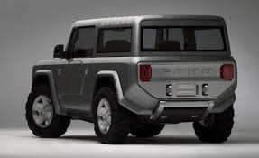 2018 ford bronco. simple 2018 ford bronco concept rear pictures in 2018 ford bronco i