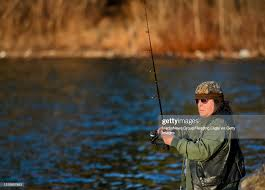 Charlie Mast of Reading fishes in Lake Ontelaunee at the Cove on ...