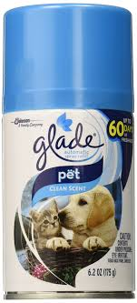 Automatic Spray Air Freshener Refill, Pet Clean Scent, 6.2 Ounce