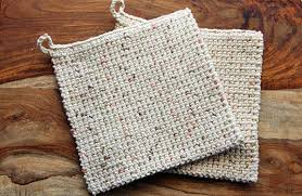 Double Thick Crochet Potholder Pattern Gorgeous The Perfect Potholder Thermal Crochet Stitch Corn Maiden