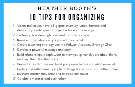 Take Action Heather Booth