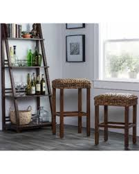 30 inch backless bar stools. Plain Backless Micu Rattan 30inch Backless Barstool By Kosas Home Bar Stool Brown With 30 Inch Bar Stools I