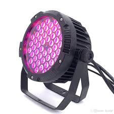 Dj Led Par Light Ip65 Waterproof 54x6w Rgb 3in1 Led Par Lights Dj Lights Dmx512 Control Professional Stage Dj Equipment Disco Lights Led Strobe