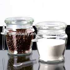 Decorative Spice Jars Glass spice jar with spoonglass spice jar with lids View glass 82