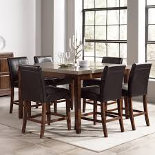 Granite top high table dining room wayfair