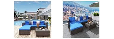 outdoor furniture sets wicker sofa 2020