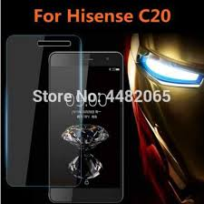 For Hisense C20 <b>Tempered Glass 9H Front Protective</b> Film ...