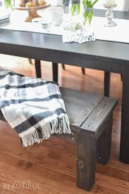 learn how to build a rustic diy farmhouse bench with this simple plan a burst