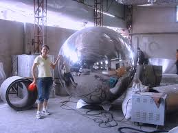 Stainless Steel Decorative Balls Stainless steel oval ballStainless steel eggshaped ballsphere 89