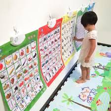 Details About Baby Toddler Educational Wall Hang Poster Phonic Sound Chart Learning Cognize