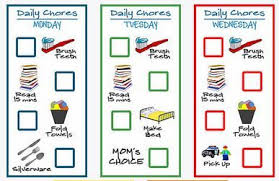 Free Printable Chore Chart For 4 Year Old Free Printable Chore Chart For Little Ones 2 4 Years Old