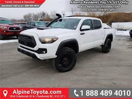 2019 toyota tacoma trd sport trd pro leather seats led fog lamps manual at 346 b w for in cranbrook alpine toyota