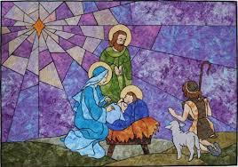 Sew your own Christmas Nativity & Nativity scene quilt patterns Adamdwight.com