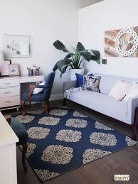 Navy Living Room Decor Navy Blue And White Living Room Living Room Design Ideas