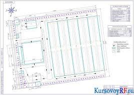 Реконструкция складского хозяйства курсовая работа с чертежами все чертежи