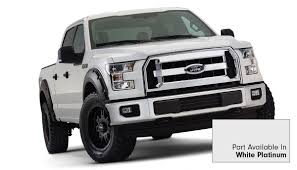 2015-2017 F150 Bushwacker Pocket Style Fender Flares (Pre-Painted ...