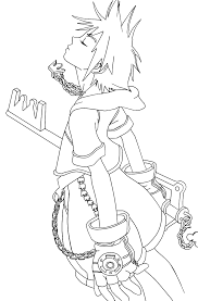 Small Picture Free Printable Kingdom Hearts Coloring Pages For Kids
