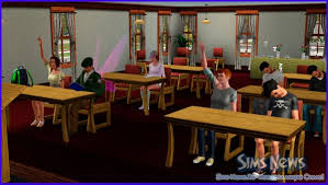 the sims Студенческая жизнь Факультет бизнеса учеба и  Факультет бизнеса учеба и получение диплома