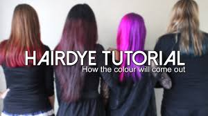 Manic Panic Blue Color Chart Manic Panic Hairdye Tutorial How The Colour Will Come Out