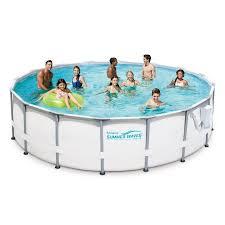 above ground pool walmart. Summer Waves Elite 16\u0027 X 48\ Above Ground Pool Walmart