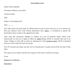 How To Write A Letter For Absconding From Duties Wisdomjobs Com