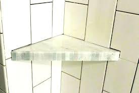 corner shower shelf plastic shelves bathtub white bunnings glass