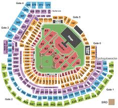 Kenny Chesney St Louis Seating Chart Kenny Chesney Tickets Seating Chart Busch Stadium