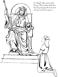 Small Picture Page 4 of the Story of Esther coloring book