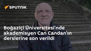 Boğaziçi Üniversitesi'nde akademisyen Can Candan'ın derslerine son verildi  - 16.07.2021, Sputnik Türkiye