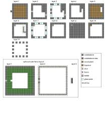 Small Picture Cool Houses Minecraft Floorplans Medium By Coltcoyote On