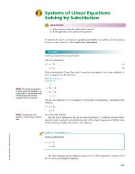 systems of linear equations solving by