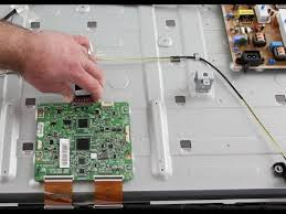 samsung tv screen replacement. samsung led tv repair - t-con board replacement no picture on screen, image fades to black un60 youtube tv screen r