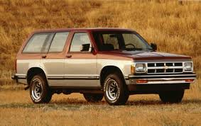 1990 Chevrolet S-10 Blazer - Information and photos - ZombieDrive