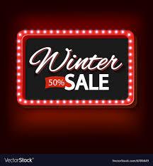 Vintage Lights For Sale Winter Sale With Purple Lights Vintage Frame