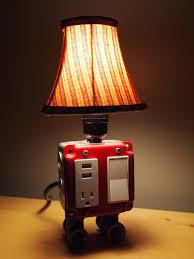 cool nightstand lamps multifunctional design plus table lamp