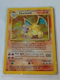 Pokemon Card Printable 4th Print 1999 2000 Base Set Charizard 4 102 Pokemon Card 90 00