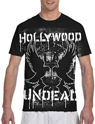 LisaJYancey Hollywood Undead T Shirt Men Printed ... - Amazon.com